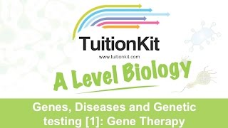 Genes, Diseases and Genetic testing [1]: Gene Therapy (High band Biology)