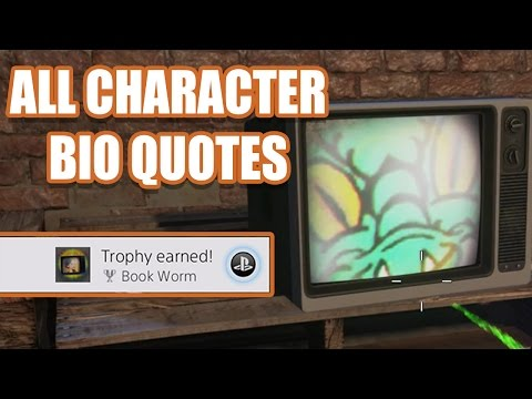 BOOK WORM TROPHY + ALL CHARACTER BIO QUOTES - Shaolin Shuffle