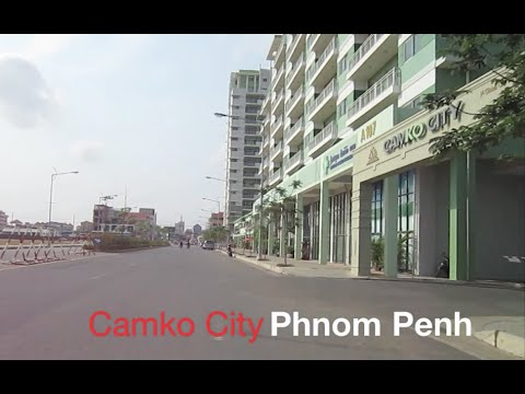 Travel in Phnom Penh to Camko City and Borey Angkor Phnom Penh