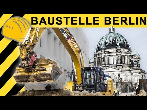 Nah am Wasser gebaut - Humboldt Forum Berlin | ON THE JOB mit Zeppelin Rental