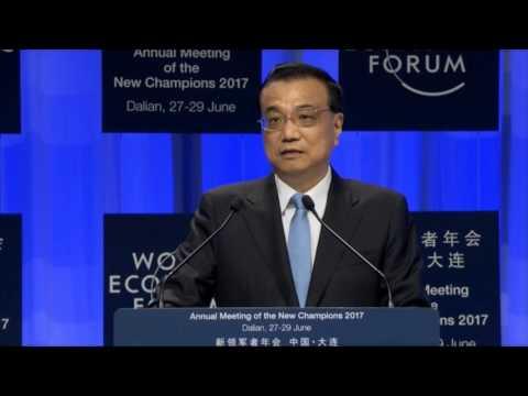 Opening Plenary - Li Keqiang - Economic globalisation