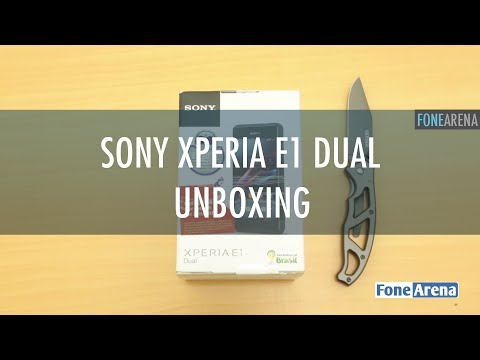 Sony Xperia E1 Dual Unboxing