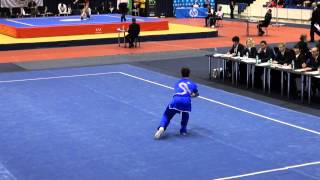 15th European Wushu Champ. - CQM - Matteo Baldi - Italy - 8.83