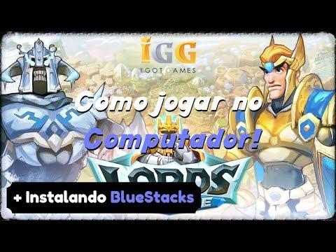 Lords Mobile - Como Jogar No PC + Emulador BlueStacks!