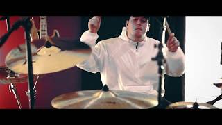 Emmure - Flag of the Beast Drum Play Through (OFFICIAL VIDEO)