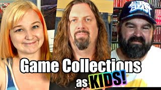 Game Collections as KIDS? - No Money & Great Memories!