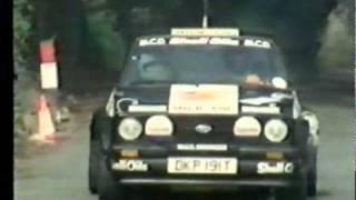 Ari Vatanen Manx Rally 1982 Ford Escort Mk2 RS1800