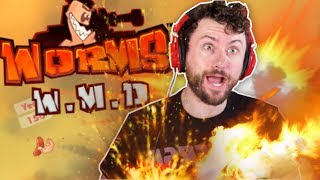 When in Doubt... YEET IT OUT | Worms WMD w/ The Derp Crew