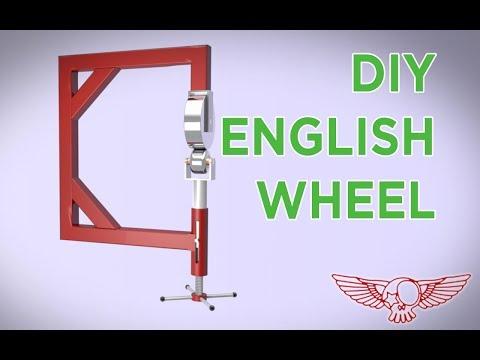 How to build a diy english wheel tutorial - Roma Custom Bike
