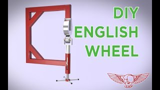 How to build a diy english wheel tutorial - Roma Custom Bike