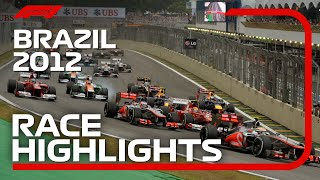 2012 Brazilian Grand Prix: Race Highlights | Presented by Pirelli