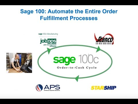 Sage 100 Shipping Software:  Automate the Entire Order Fulfillment Processes