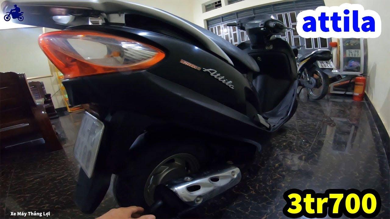 (Còn mới 80%) xe ga giá rẻ attila victoria giá chỉ có 3 triệu 700