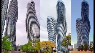 Missisauga/Ontario Absolute Towers:Discover Canada Most Futuristic Skyscrapers/Marilyn Monroe Tower