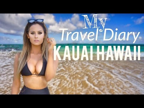 Travel Diary| Kauai Hawaii With Tarte Cosmetics