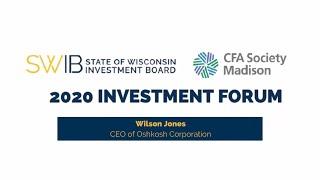 Wilson Jones - CEO of Oshkosh Corporation