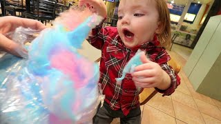 DADDY NiKO DATE!! Surprising Baby Bear! new toys, hide n seek, indoor play park and arcade with Dad!