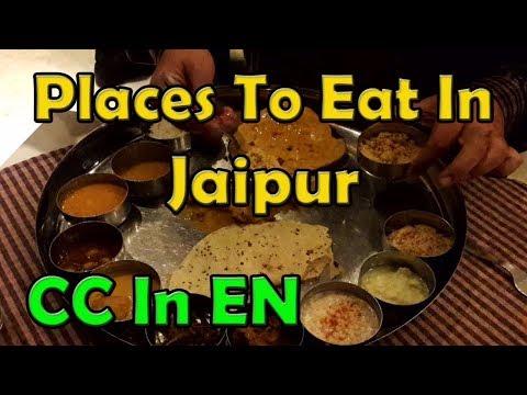Jaipur restaurants & street food | Rajasthani food, kachori, Lassi & more