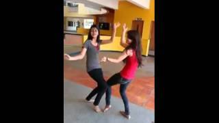 Amazing dance by two girls india on gujarati songs