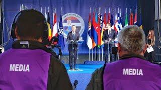NATO Secretary General with the President of Serbia Aleksandar Vucić, 08 OCT 2018, Part 1 of 2