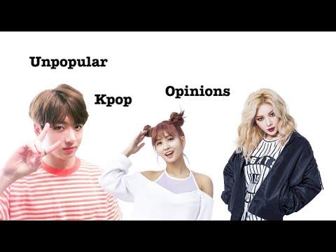 Unpopular Kpop Opinions!
