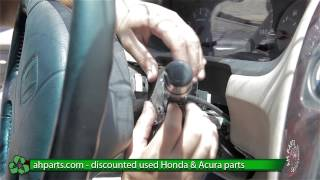 How to replace / change a Headlight / Wiper Switch 1998 1999 2000 2001 2002 Honda Accord REPLACE DIY