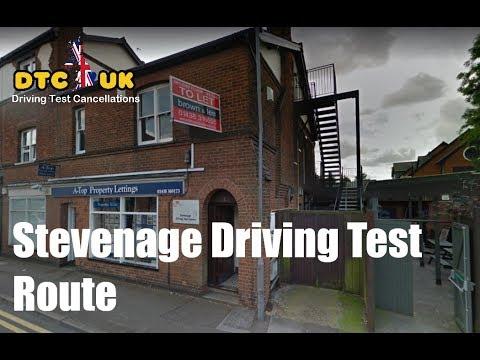 Stevenage Driving Test Route 1 | DTC-UK | Driving Test UK