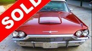 SOLD - 1965 Thunderbird Landau Special Edition
