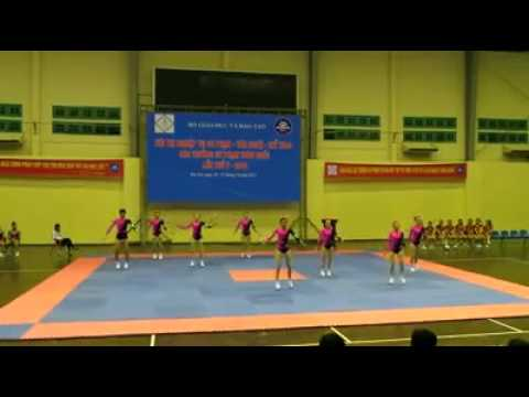 Bài aerobic 8 người NVSP Toàn Quốc - Trường ĐHSP Thai Nguyên