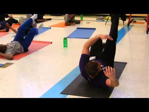 Mother Seton Academy Boys Body Flow Class