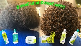 First DevaCut at Devachan Salon || Stylist: Tatyana