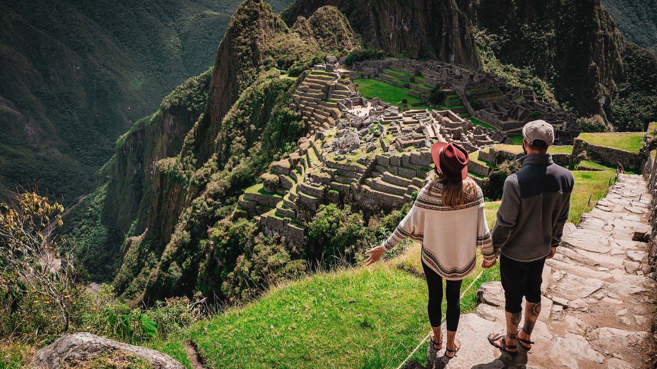 We hiked to Macchu Picchu!