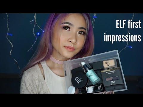 ELF first impressions - cobain elf cosmetics! [BAHASA INDONESIA] || Amanda Josphine