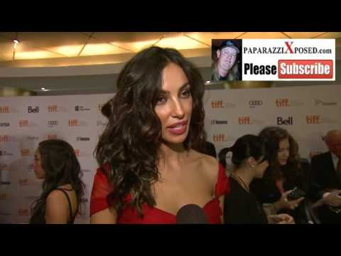 Madalina Diana Ghenea at the Dom Hemingway Premiere at Toronto Film Festival