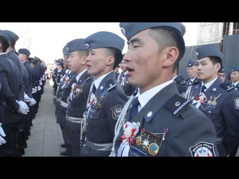 Made for 502, Police Academy in Mongolia | Doovi