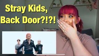 """Stray Kids """"Back Door"""" M/V REACTION l GET KOOKED"""