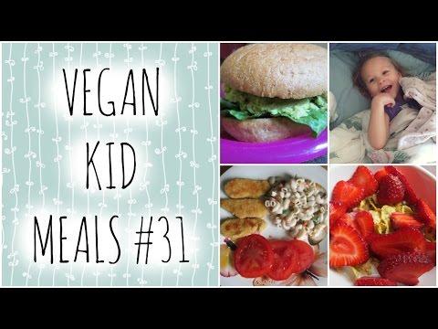 VEGAN KID MEAL IDEAS #31 Quick Chickpea Avocado Burgers!