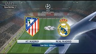 Full Highlights Final UEFA Champions League 2016 : Real Madrid vs Atlético Madrid (28/05/2016)