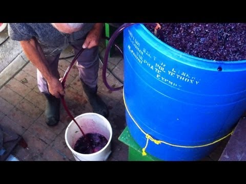 Homemade Italian Wine