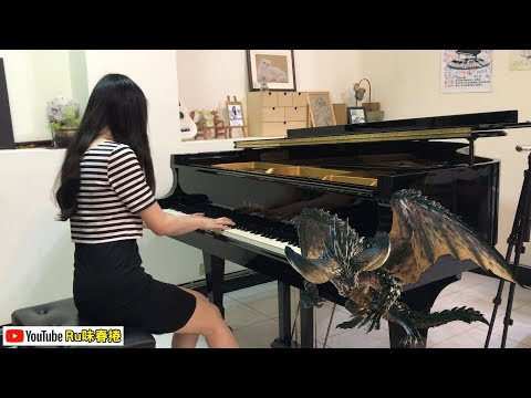 【Ru's Piano】MHW 魔物獵人世界 - 滅盡龍BGM「古龍を脅かす獣牙」(Piano Cover)/電玩音樂♫