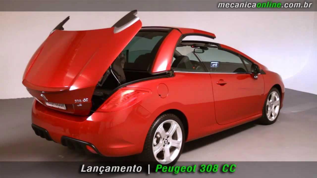 Peugeot 308 CC - YouTube