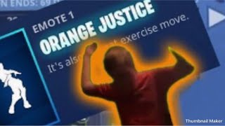 ORANGE JUSTICE IN ROBLOX! (Roblox)