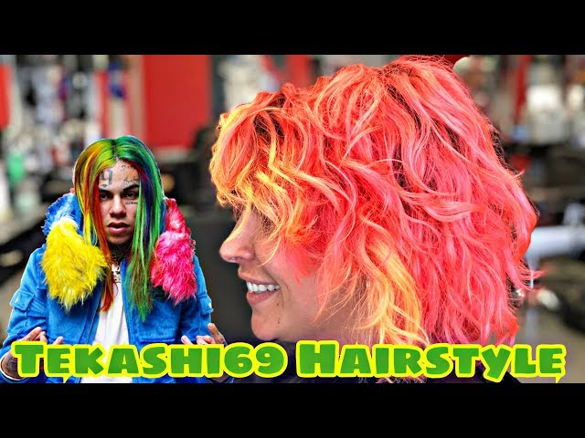 6IX9INE Hairstyle Tutorial