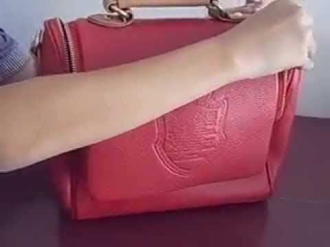 Review กระเป๋าแฟชั่น Axixi รุ่น 120708B สีแดง