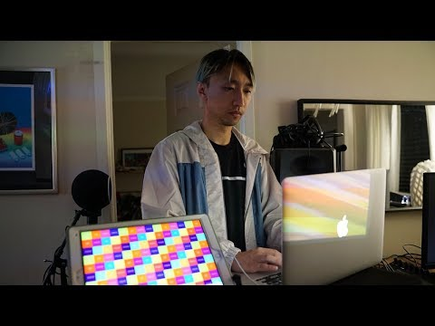Beat Maker Mike Gao Jams Live on his Polyplayground App
