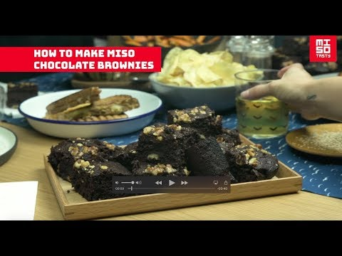 How to make our Miso Tasty miso chocolate brownies (the best brownie recipe)!