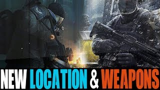 THE DIVISION 2 - TWO NEW WEAPONS & NEW LOCATION CONFIRMED!! | OFFICIAL THE DIVISION 2 IMAGES LEAKED