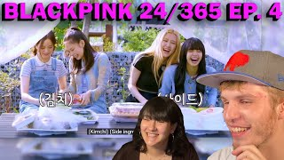 BLACKPINK 24/365 EPISODE 4 (COUPLE REACTION!) | THE INGREDIENTS GAME