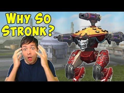 WHY IS PHANTOM SO POWERFUL? War Robots Mk2 Gameplay WR
