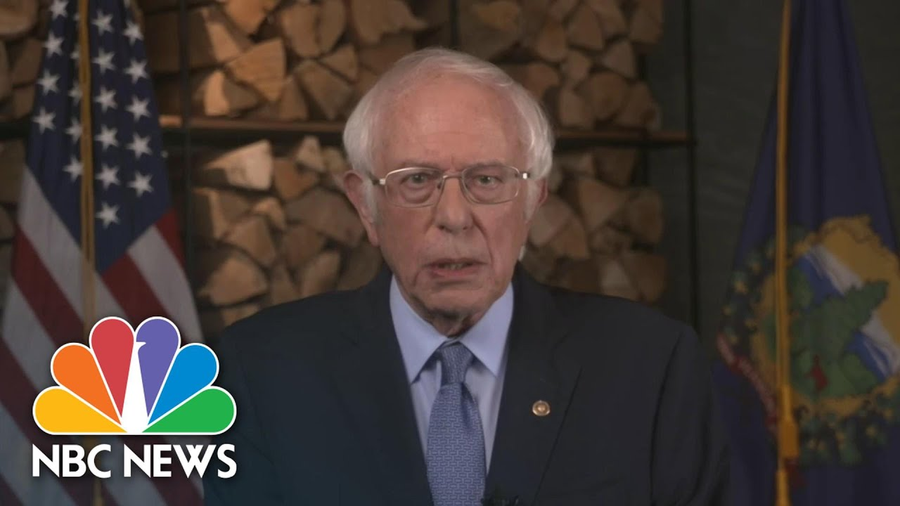 Watch Sen. Bernie Sanders' Full Speech At The 2020 DNC | NBC News